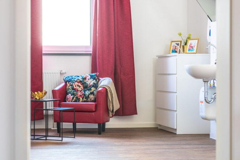 Viel Platz für individuelle Gestaltung. Die Bewohnerzimmer in der Intensiv-WG im Landkreis Zwickau.