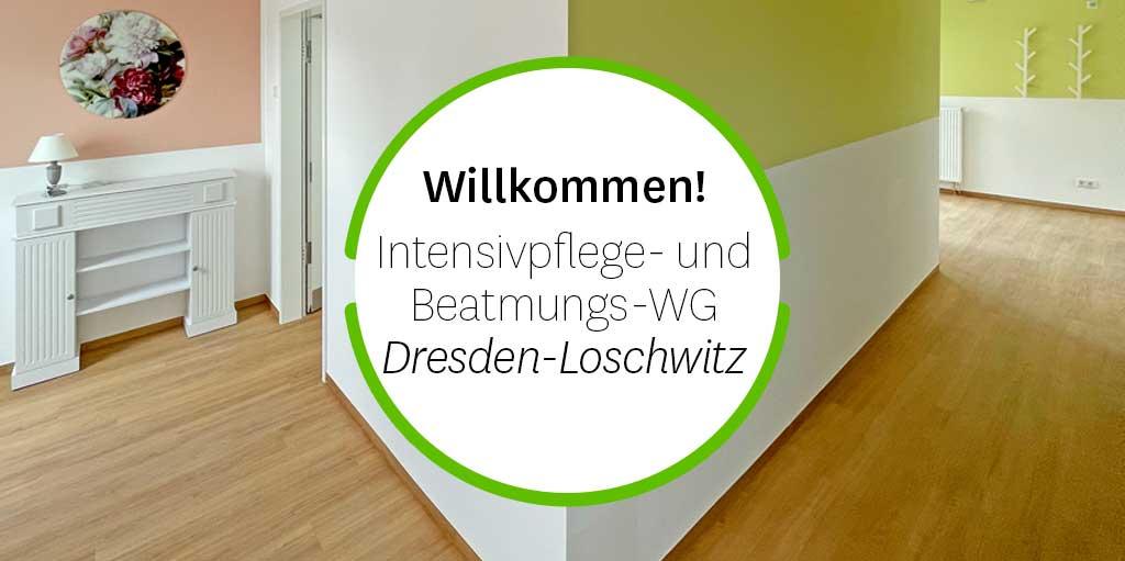 Willkommen - erste Bewohner beziehen Intensivpflege-WG Dresden-Loschwitz